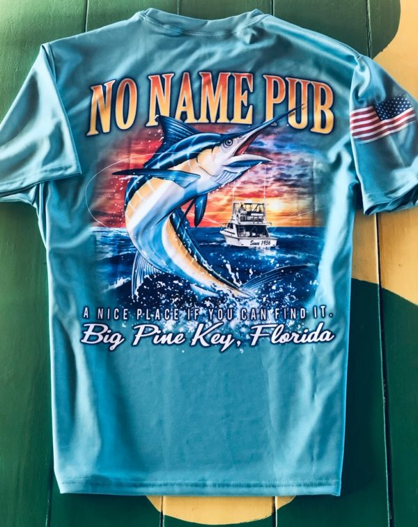 Short Sleeve Marlin DriFit No Name Pub
