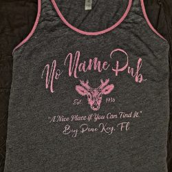 No Name Pub Ladies Deer Imprint Tank
