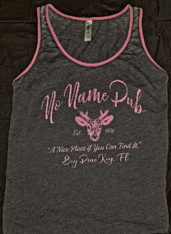 No Name Pub Ladies Deer Imprint Tank