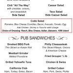 NNP Menu Page 2 - Soups & Sandwiches
